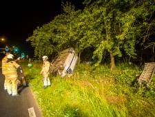 Bestuurder busje gaat ervandoor na ongeval bij Odijk