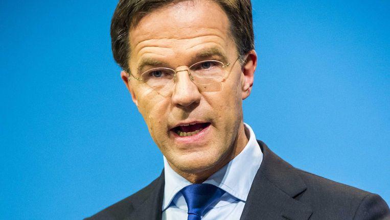 Rutte blijft onvermoeibaar zelfvertrouwen uitstralen Beeld ANP