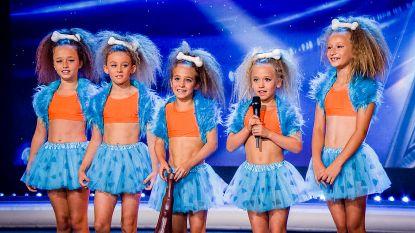 Superschattig: de Flintstones-turnsters uit 'Belgium's Got Talent'