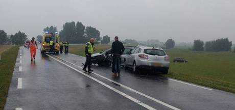 Ongeval met meerdere auto's op N337