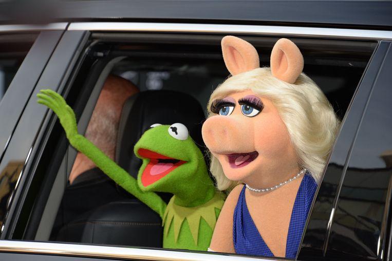 Kermit en Miss Piggy zijn in feite Disneyfiguurtjes.