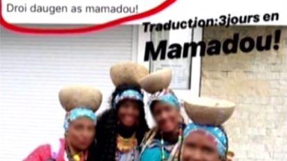 Stewardess in opspraak na Afrikaanse verkleedpartij op Aalst Carnaval, meteen wordt om haar ontslag geroepen