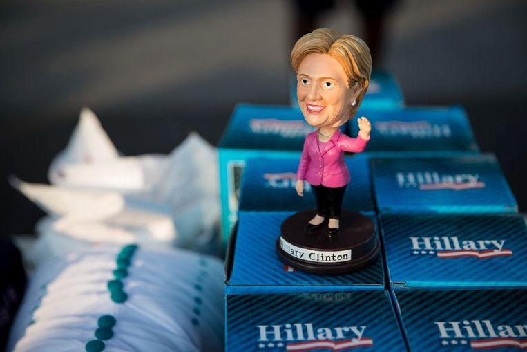 Hillary Clinton-poppetje Beeld ap