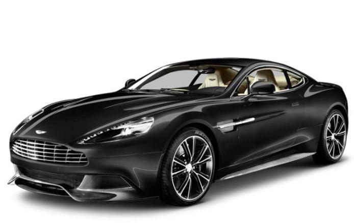 L'Aston Martin Vanquish, la favorite de Thibaut Courtois durant son aventure londonienne.