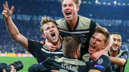Wervelende jonkies van Ajax stunten opnieuw en zitten in halve finale