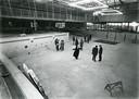 Het Golfbad in aanbouw, begin jaren 80.