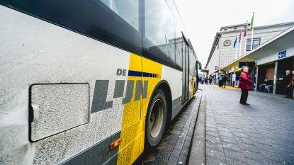 Ruim helft bussen en trams De Lijn rijdt met vertraging