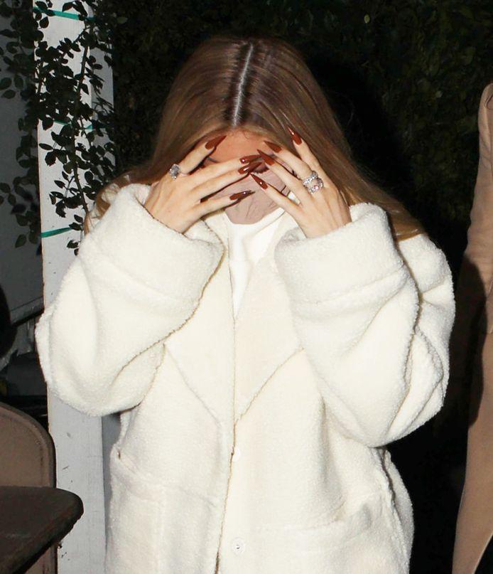 Kylie Jenner vorige maand.
