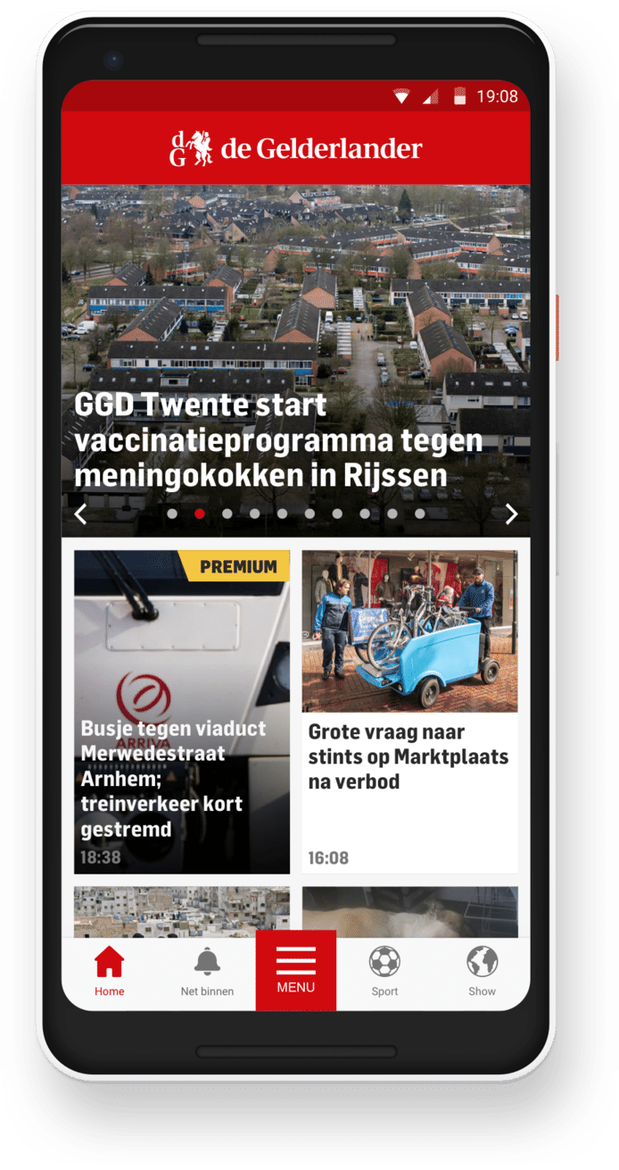 De nieuwe app is nu te downloaden.