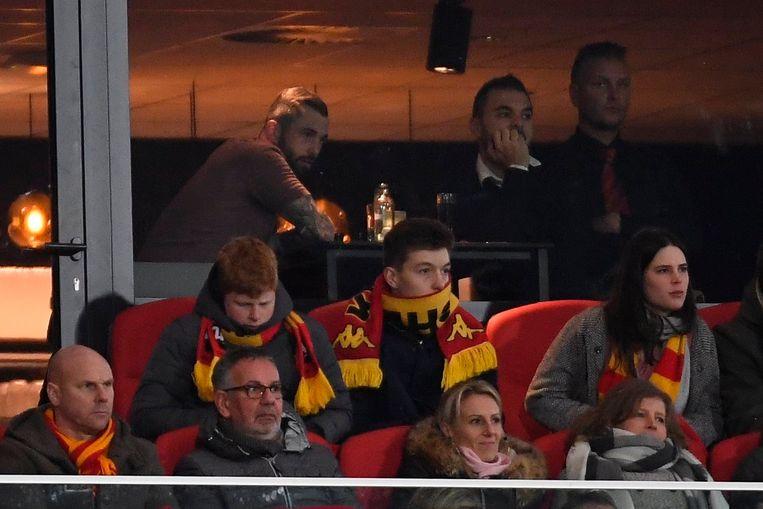 Steven Defour kwam vorig seizoen in de thuiswedstrijd tegen Eupen een kijkje nemen.