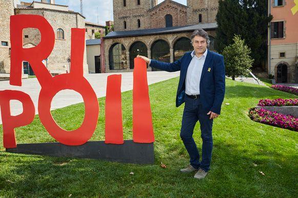 De gebeurtenissen van een jaar terug dwongen Ripolls burgemeester Jordi Munell tot diepe introspectie.