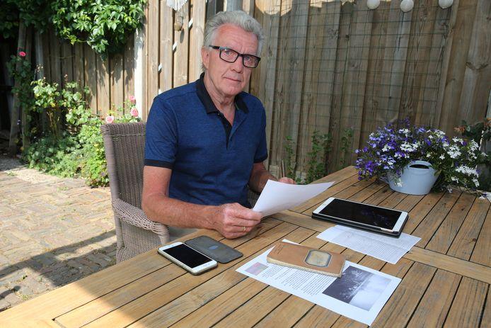 Wim Jans speurde zes weken lang naar het wel en wee van een politieagent die in 1940 een notitieboekje achterliet in een woning in Brummen. ,,Het was een wonderlijke, complexe en boeiende zoektocht.  Gelukkig met een happy end.''