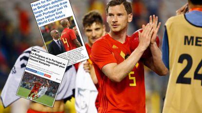 """""""De Belgische fans mogen zich zorgen maken"""" en """"ze zijn allergisch aan passen"""": lastige avond voor Duivels is ook buitenlandse media niet ontgaan"""