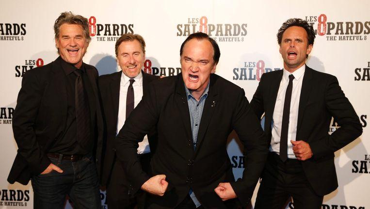 Regisseur Quentin Tarantino trekt volle zalen. Beeld anp