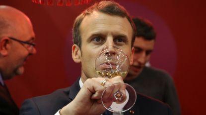 President Macron zegt 'non' tegen campagne voor maand zonder alcohol