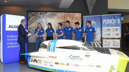 Na de stuntzege gaat Solar Team opnieuw voor overwinning op WK in Australië