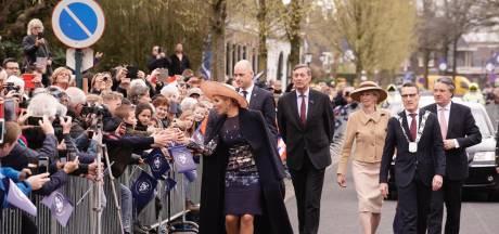 Koningin Máxima op visite bij brouwerij Bavaria in Lieshout