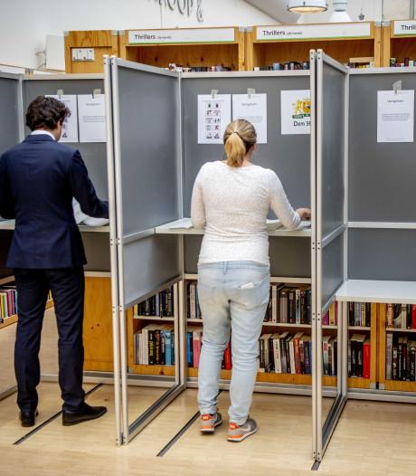 Opkomst in de regio bij verkiezingen veel hoger dan vier jaar geleden