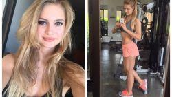 Fitnessmodel (23) raakt verlamd nadat ze rug breekt bij het doen van sit-ups. Maar ze vecht terug
