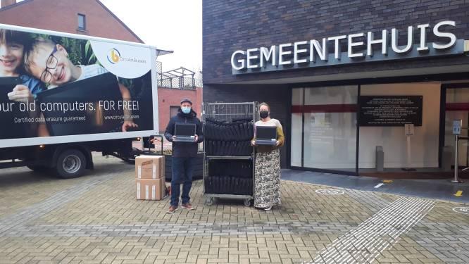 Sint-Katelijne-Waver schenkt laptops aan kinderen met moeilijke financiële thuissituatie