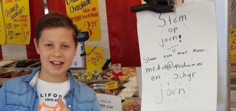 Jorn (10) en Noa (9) vechten zelfs op straat om kinderburgemeesterschap Apeldoorn