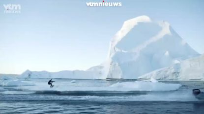Kippenvel, letterlijk en figuurlijk: wakeboarden tussen gletsjers