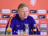 Bondscoach Koeman vangt bot bij Arjen Robben