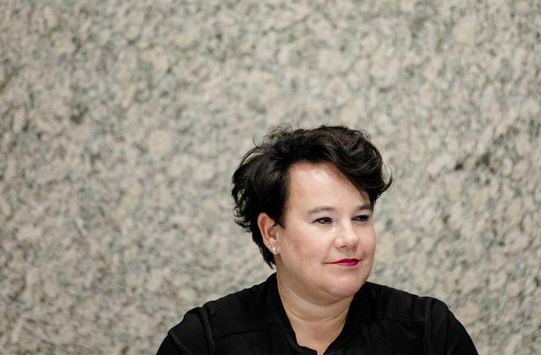 PvdA-Kamerlid Sharon Dijksma komt samen met GroenLinks met een initiatiefwet rond de abortuspil. Beeld anp