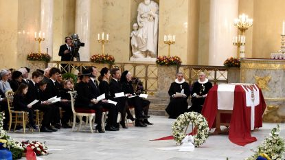 Familie neemt afscheid van Deense prins Henrik