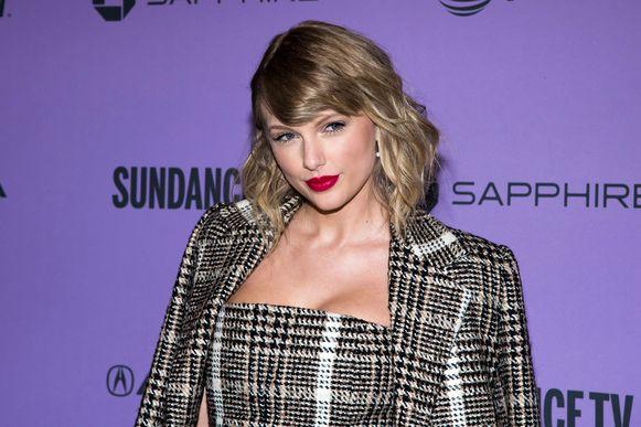 Taylor Swift op de première van 'Miss Americana'