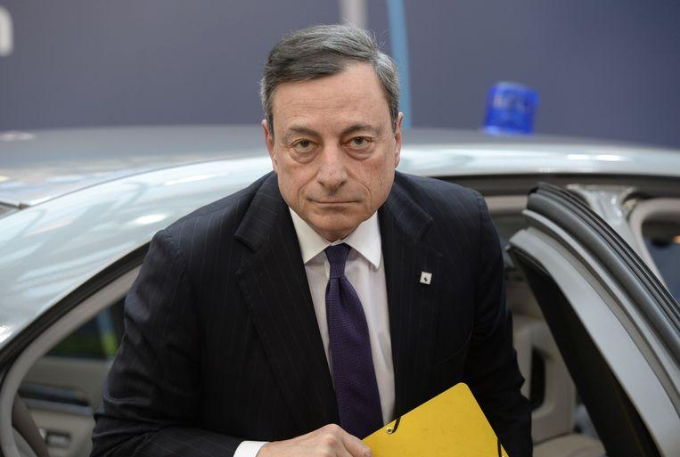 Op het Binnenhof heeft Draghi weinig vrienden Beeld afp