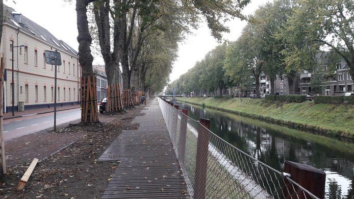 Wandelpad langs de Zuid- Willemsvaart.