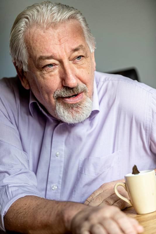 Jacques Snepvangers van de stichting Goed Ontmoet, die ook Tholen van voedselpakketten voorziet.