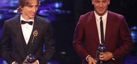 Eden Hazard et Kevin De Bruyne visent une place dans le Onze de l'année