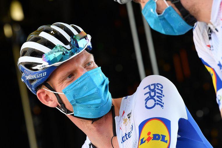 Niemand ontsnapt aan de bijzondere Covid19-maatregelen in de Ronde van Frankrijk. Houthulstenaar Tim Declercq is daar geen uitzondering op.