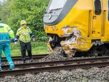 Trein ontspoort na botsing Wouw: zeker tot zaterdag geen treinverkeer