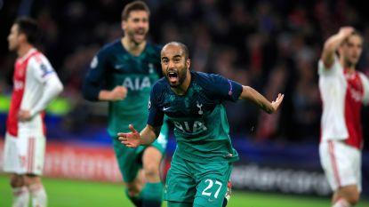Wat een comeback! Ajax-sprookje in 96ste minuut voorbij na hattrick Lucas