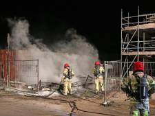 Urk weer opgeschrikt door nachtelijke brand