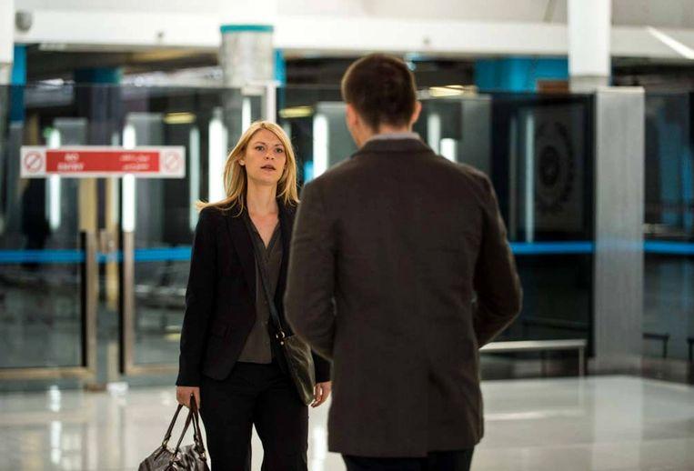 CIA-agent Carrie Mathison, gespeeld door Claire Danes Beeld null
