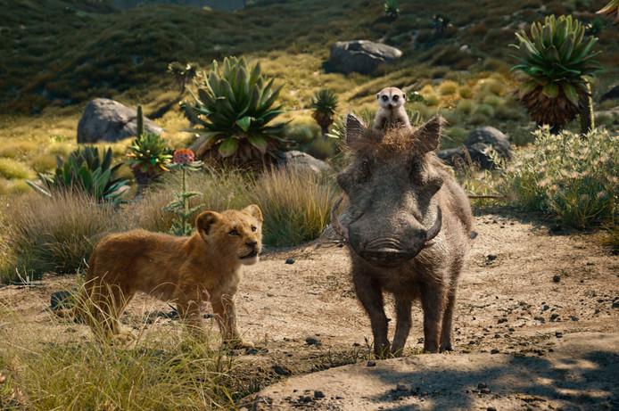 Een scène uit The Lion King