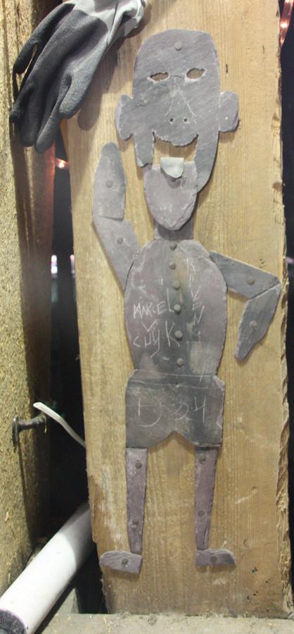 Afbeelding van de originele 'Pietertje' bovenin DePetrus in Vught