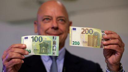 Nieuwe briefjes van 100 en 200 euro