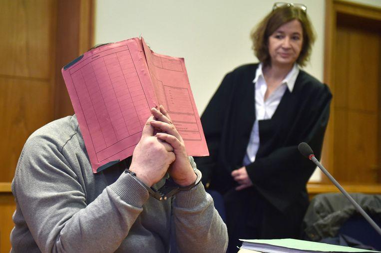 De Duitse verpleger Niels Högel tijdens zijn proces.