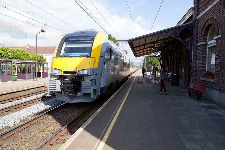 Het station van Beernem.