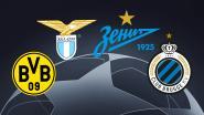Haalbare loting voor Club Brugge: blauw-zwart treft Borussia Dortmund, Lazio en Zenit in groepsfase Champions League