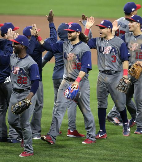 Verenigde Staten naar halve finales World Baseball Classic