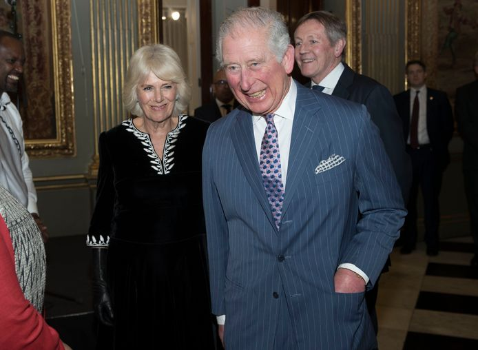 Le prince Charles et Camilla, en mars 2020.