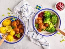 Plantaardige gehaktballetjes van Ikea in augustus naar Nederland