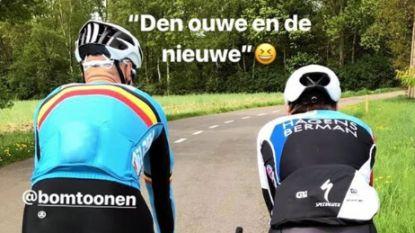 """KOERS KORT: Tom Boonen en """"nieuwe"""" Tom Boonen trekken er samen op uit"""
