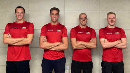 """Komende nacht al 'do or die' voor Pieter Timmers en co in estafetteploeg 4x100m vrij: """"Top 12 en ticket Spelen moet kunnen"""""""